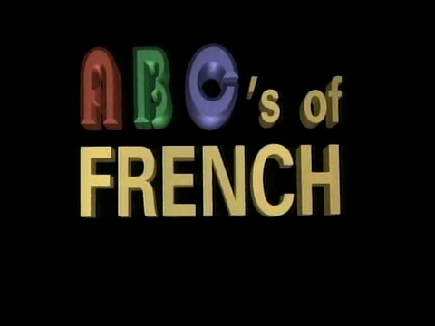 ABC's of French