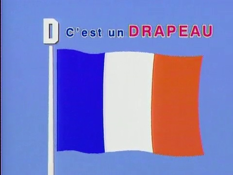 C'est un Drapeau (This is a flag)