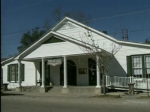 Abita Springs Town Hall, home of the Abita Springs Opry