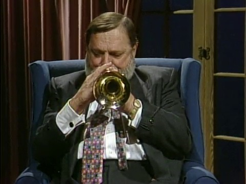 Al Hirt playing the trumpet