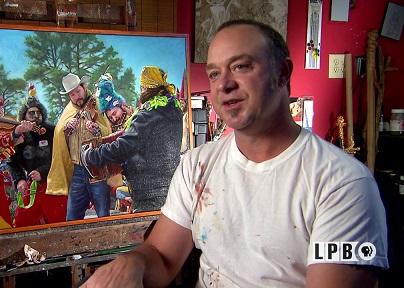 Artist Herb Roe