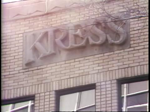 Kress Department Store, site of one of the Baton Rouge Sit-Ins