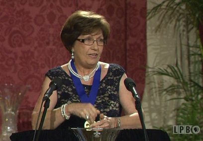 Gov. Kathleen Blanco at 2015 Louisiana Legends Gala