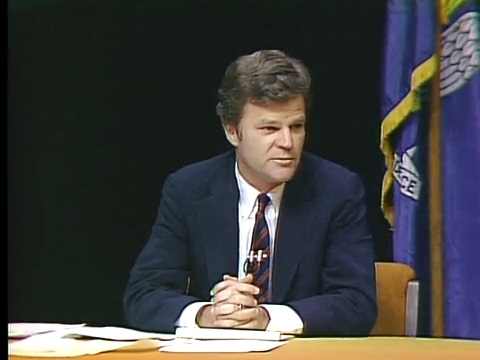 Buddy Roemer at the 1987 gubernatorial debate