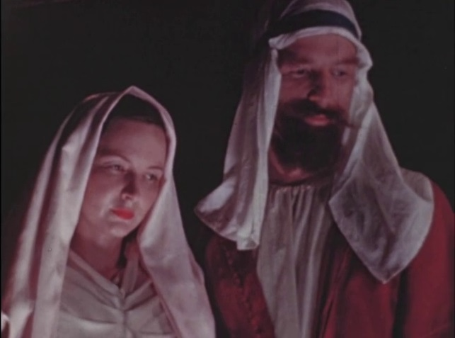 Mary and Joseph in Christ is Born