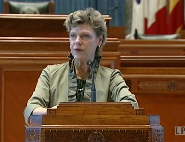 Cokie Roberts at 2011 Book Festival