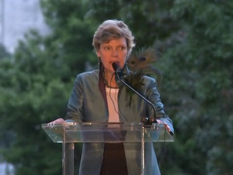 Cokie Roberts in 2015