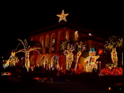 Al Copeland's Christmas Display