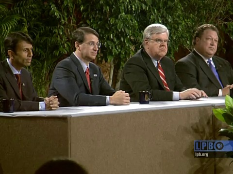2007 Gubernatorial Debate with Bobby Jindal, John Georges, Foster Campbell and Walter Boasso
