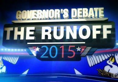 Governor's Debate - The Runoff 2015