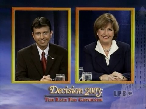 Decision 2003 Debate with Bobby Jindal and Kathleen Blanco