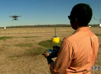 Drones and Louisiana Farmers