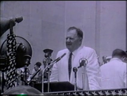 Earl K. Long's 1956 Inauguration
