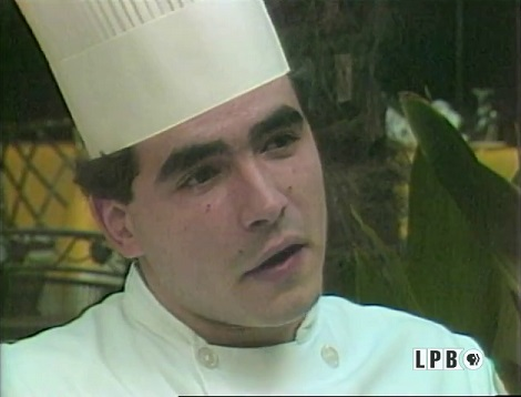 Chef Emeril Lagasse in 1985
