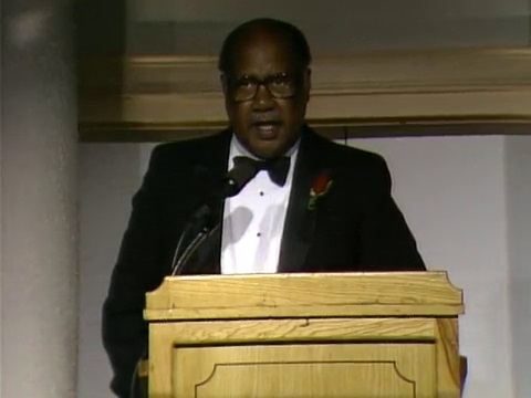 Ernest Gaines at the 1990 Louisiana Legends Gala