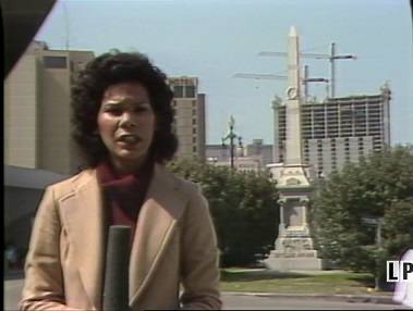 Sharon Elizabeth Sexton reporting on the 1874 Battle of Liberty Place