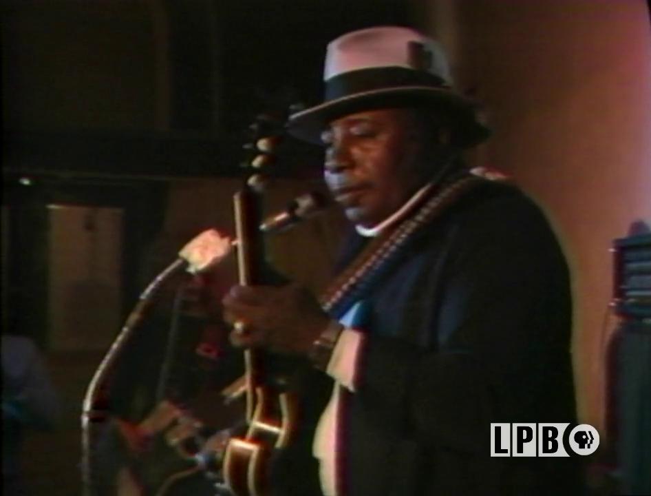 Bluesman Tabby Thomas