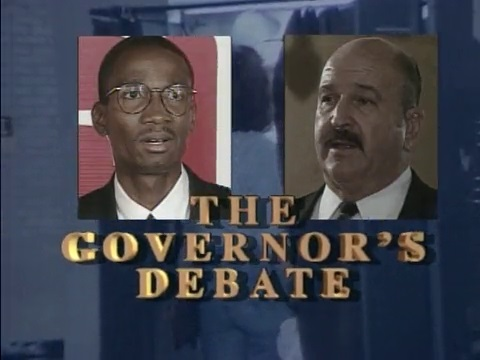 Cleo Fields and Mike Foster - 1995 Governor's Debate