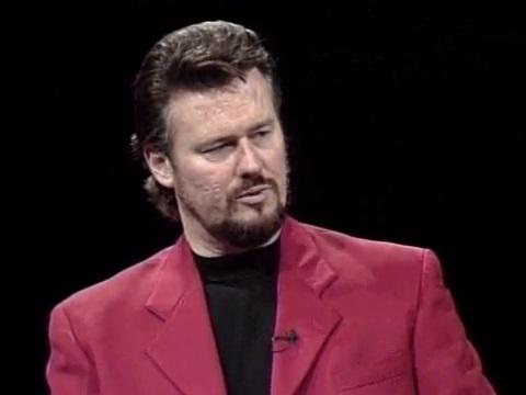 Opera singer Jeffrey Wells