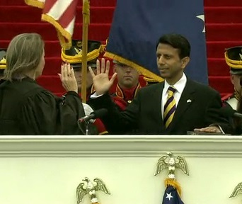 Governor Bobby Jindal's 2012 Inauguration