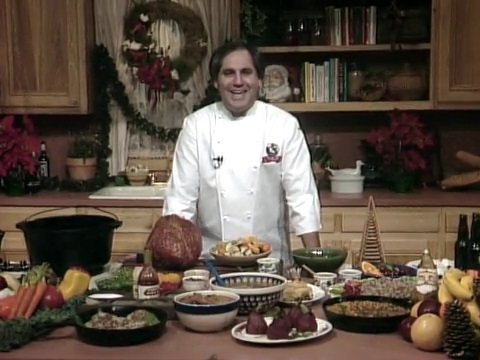 Chef John Folse in the Kitchen