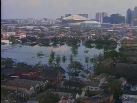 Hurricane Katrina Devastates New Orleans
