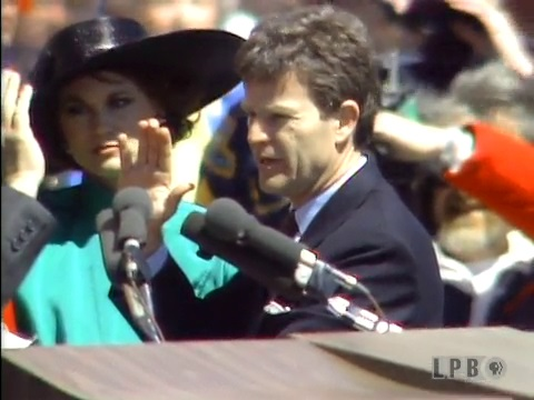 Buddy Roemer's 1988 Inauguration