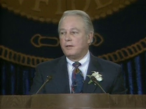 1992 Inauguration of Edwin Edwards