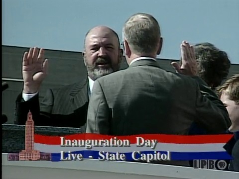2000 Inauguration of Mike Foster