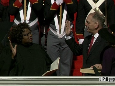 John Bel Edwards' 2016 Inauguration