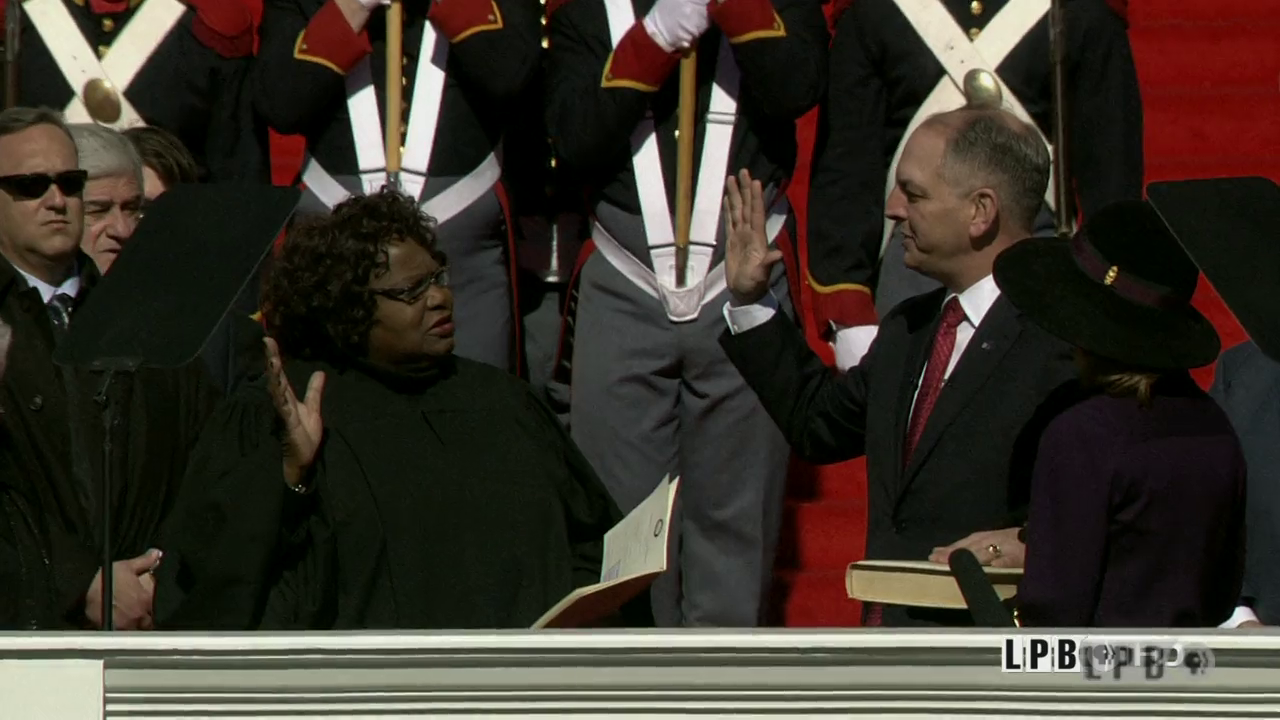 Inauguration of Governor John Bel Edwards