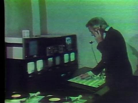 Gov. Edwin Edwards flips the switch on WLPB in 1975