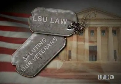 LSU Law: Saluting Our Veterans