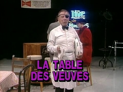 French Play - La Table Des Veuves