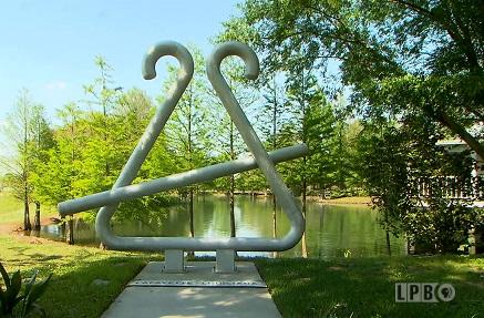 Tee-Fer Sculpture in Lafayette