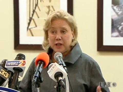 Former United States Senator Mary Landrieu