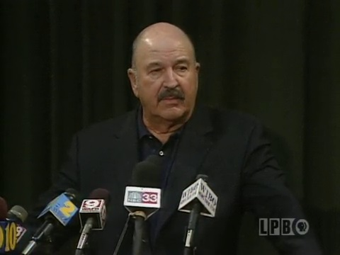 Governor Mike Foster Press Conference - September 12, 2001