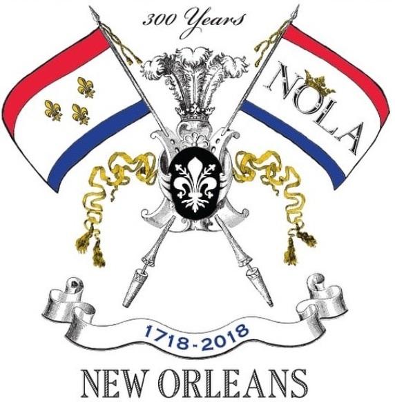 New Orleans Tricentennial Logo