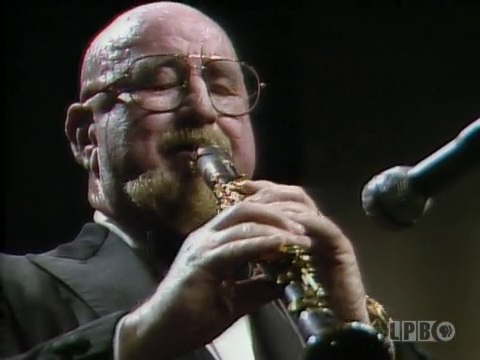 Clarinetist Pete Fountain Performing