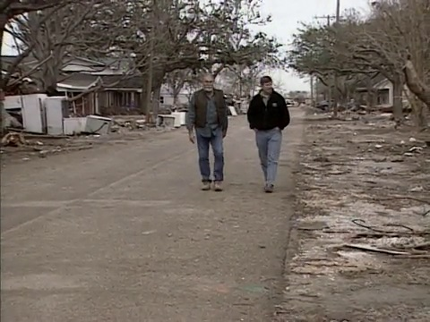 Hurricane Rita Aftermath in Cameron Parish