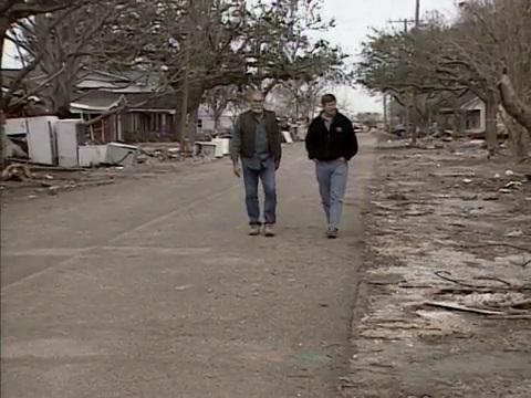 Hurricane Rita Aftermath in Cameron Parish