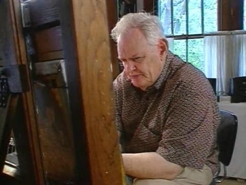 Painter Robert Rucker