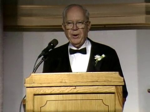 U.S. Senator Russell Long at the first Louisiana Legends Gala in 1990