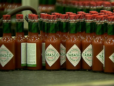 Tabasco Factory in Avery Island