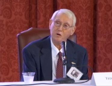 Ted Jones at the Huey Long Symposium