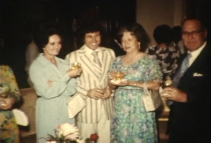 Thanksgiving at the Governor's Mansion in 1972