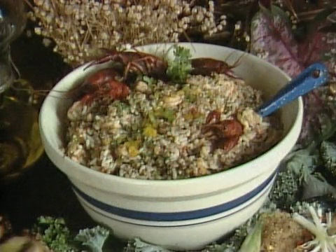 Rice Dressing at John Folse's Louisiana Thanksgiving