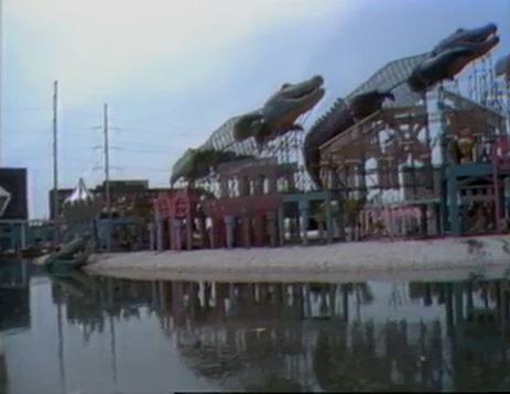 Alligator Roller Coaster at 1984 World's Fair