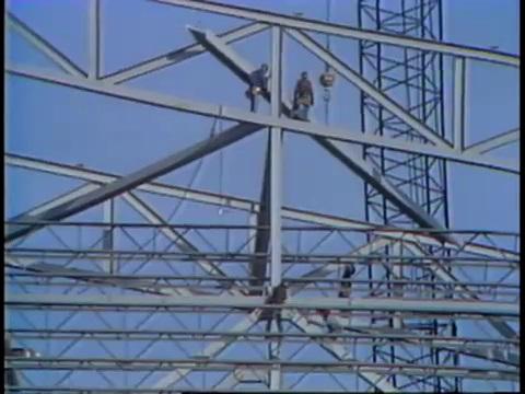 Construction for World's Fair