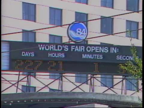 World's Fair Countdown Clock
